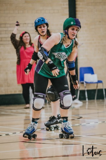 SWAT London Roller Derby Lotus Photography Bournemouth Dorset Sports Photography 45