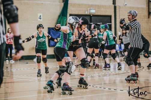SWAT London Roller Derby Lotus Photography Bournemouth Dorset Sports Photography 55