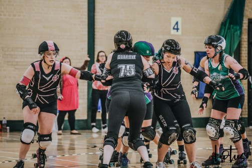 SWAT London Roller Derby Lotus Photography Bournemouth Dorset Sports Photography 56