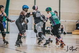 SWAT London Roller Derby Lotus Photography Bournemouth Dorset Sports Photography 68