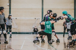 SWAT London Roller Derby Lotus Photography Bournemouth Dorset Sports Photography 69