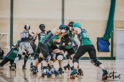 SWAT London Roller Derby Lotus Photography Bournemouth Dorset Sports Photography 70