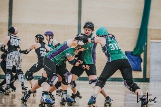SWAT London Roller Derby Lotus Photography Bournemouth Dorset Sports Photography 71