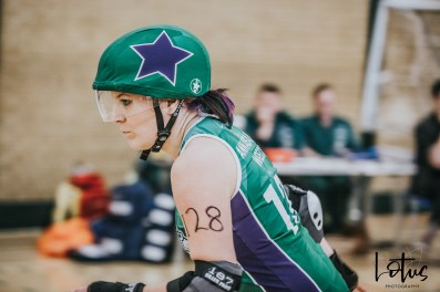 SWAT London Roller Derby Lotus Photography Bournemouth Dorset Sports Photography 93