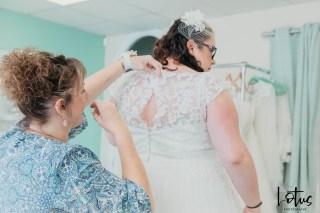 Lotus Photography Bournemouth Poole Dorset Hampshire Brides With Curves Emma Kay MUA Dress Fitting 20190804 87