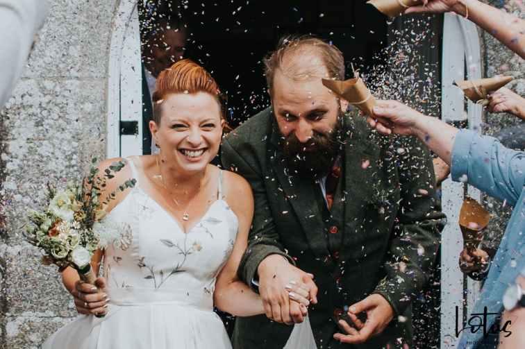 Lotus Photography UK 20190831 Jen & Ad Wedding Tintagel Cornwall Festival Wedding Tipi 143