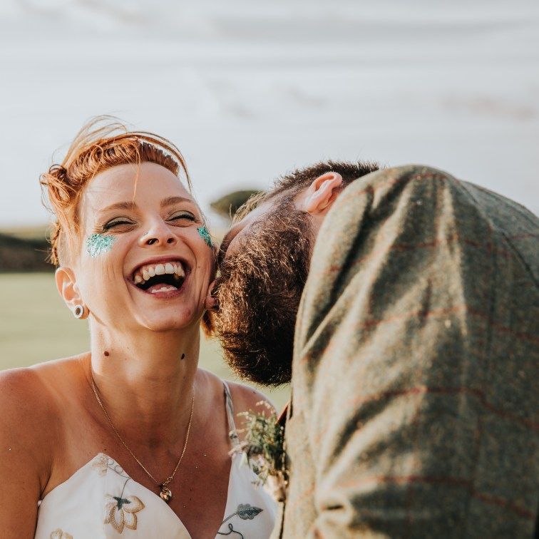 Lotus Photography UK 20190831 Jen & Ad Wedding Tintagel Cornwall Festival Wedding Tipi 498