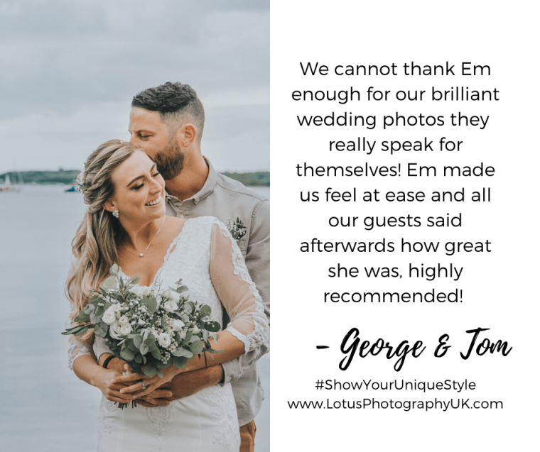 Lotus Photography UK Review 3 Wedding Photographer Bournemouth Poole Dorset Hampshire Devon Cornwall Brighton