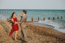 Lotus Photography UK 20200911 Dom & Rose Worthing Sussex Beach Engagement Photoshoot 34 WM