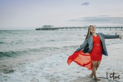 Lotus Photography UK 20200911 Dom & Rose Worthing Sussex Beach Engagement Photoshoot 65 WM