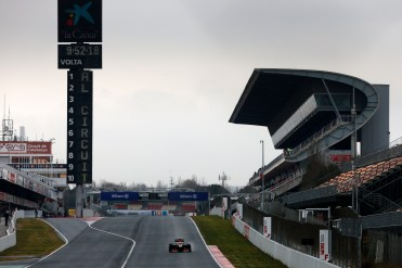 Circuit de Catalunya, Barcelona, Spain Friday 22nd February 2013