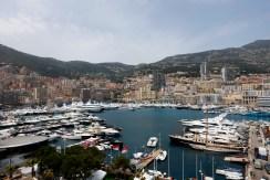 The harbour at Monaco.