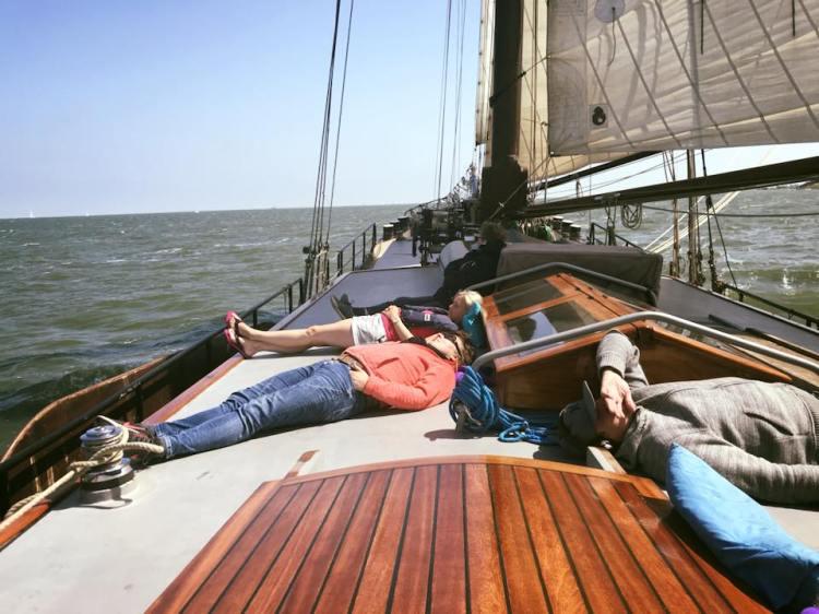 Relax during a sailingtrip
