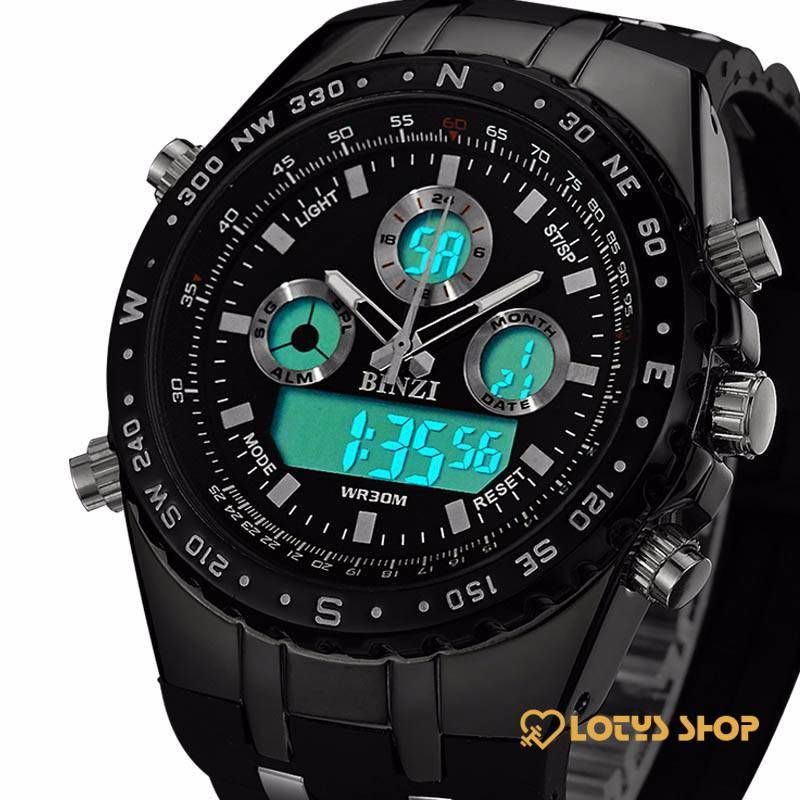 High Quality Watches With Dual Display for Men Accessories Men's watches Watches color: Black|Other|White