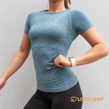 Women's Solid Color Compression Sports T-Shirt Sport items Women's sport items Women's T-Shirts color: Blue|Gray|Pink|Purple