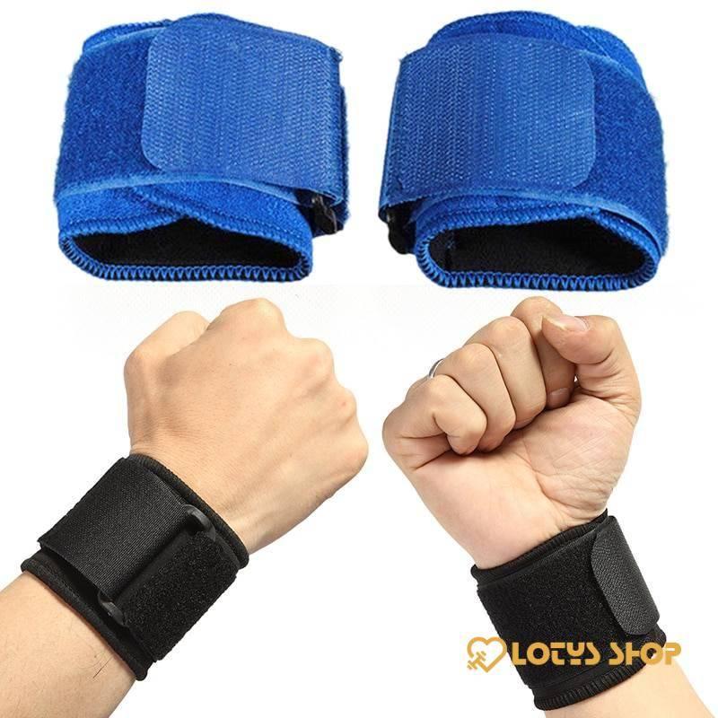 Elastic Soft Pressurized Wrist Band