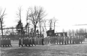 USMMA Cadet Corps ashore February 1942