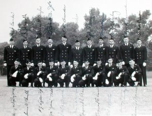 USMMA Section A212 graduation July 1943