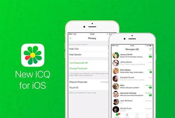 ICQ para o iOS