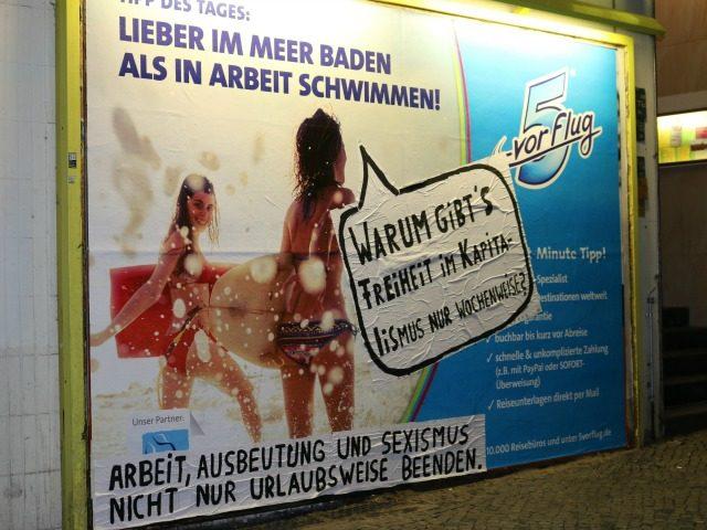 Berlim passa a banir outdoors sexistas
