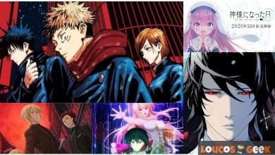 5 animes que vão bombar em outubro 2020
