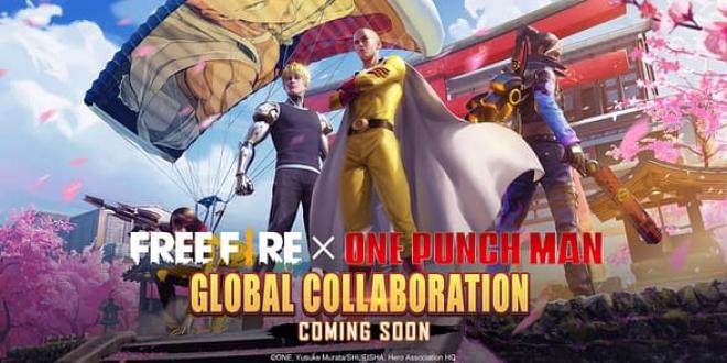 CrossOver - FreeFire e One Punch Man