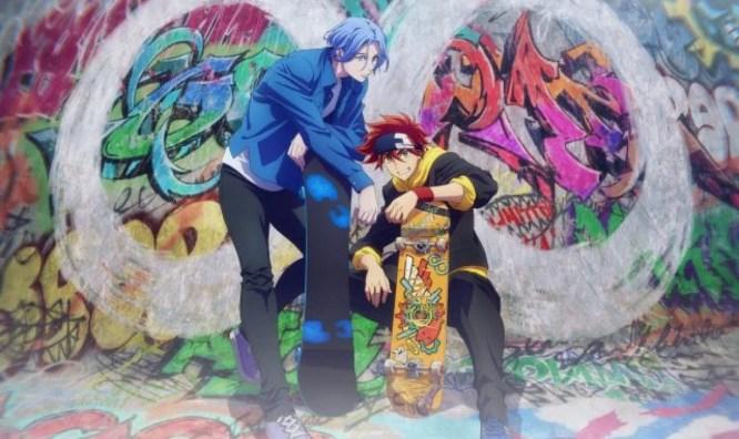 SK8 The Infinity Anime de Skate do estúdio Bones