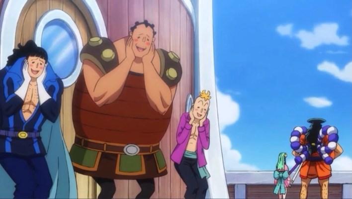 Episódio 964 de One Piece - Oden se Junta aos Piratas do Barba Branca
