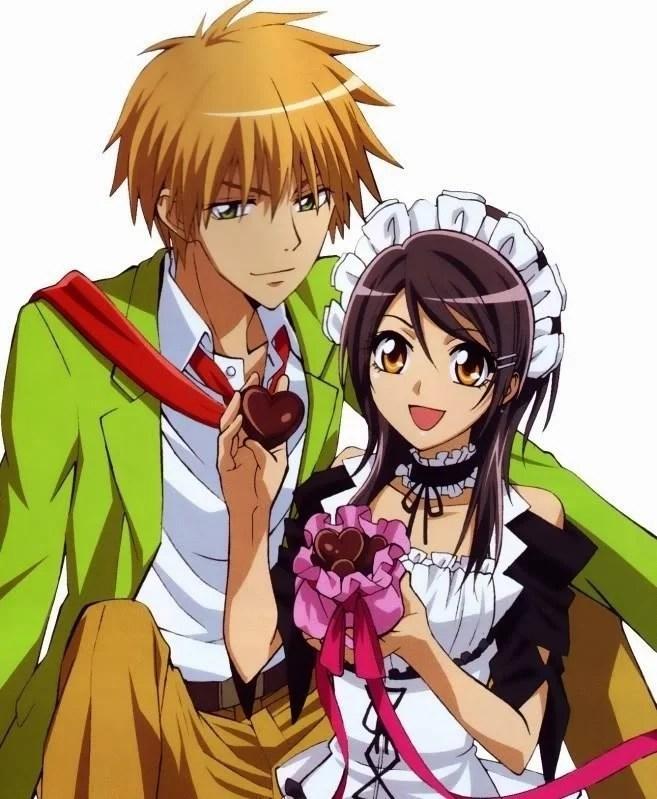 3 Animes Parecidos Com Horimiya: Kaichou wa Maid Sama