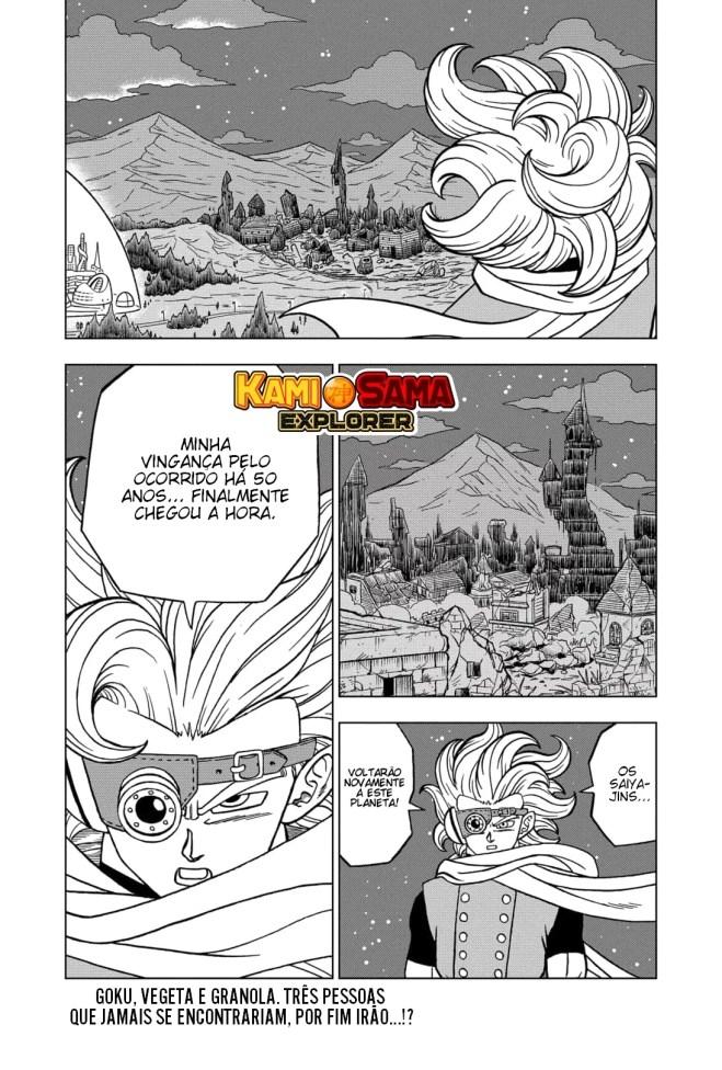 Dragon Ball Super - Capítulo 71 - Granola