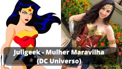 Juligeek - Mulher Maravilha (DC Comics)
