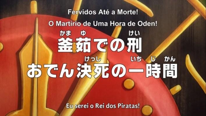 One Piece - Episódio 972