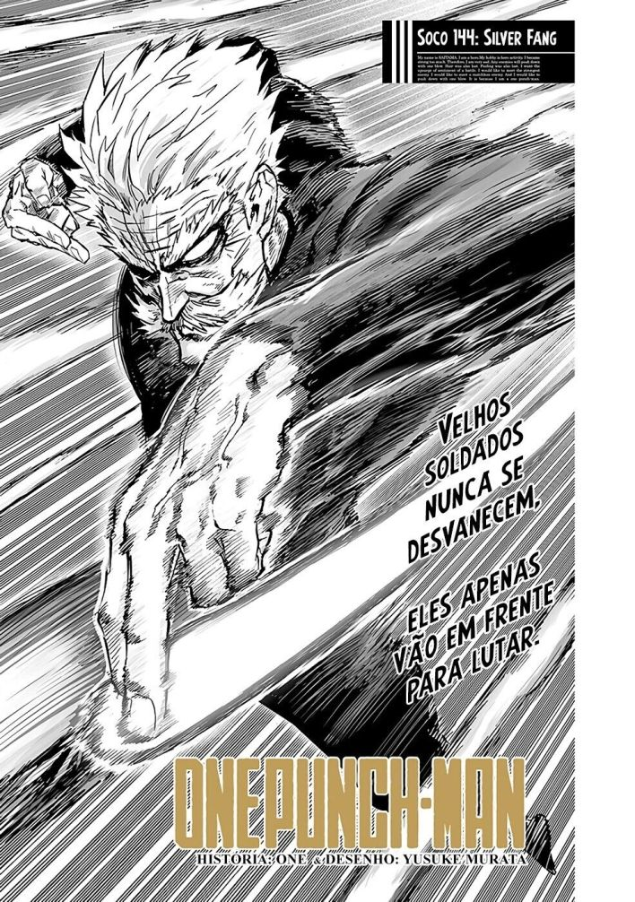 One Punch Man - Capítulo 144 Silver Fang