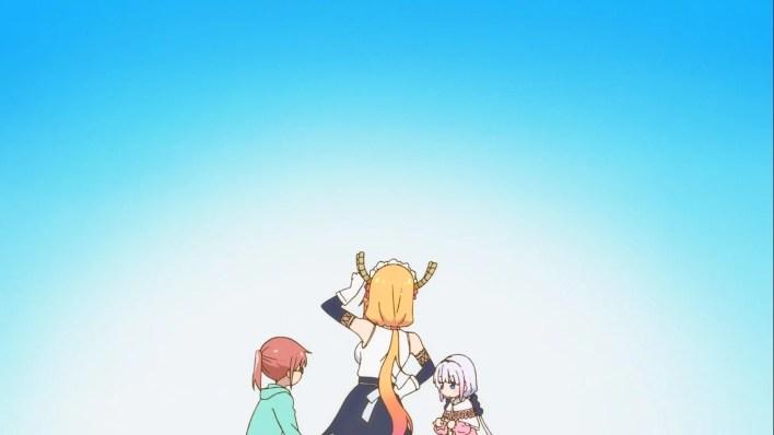 Maid Dragon S - Episódio 01