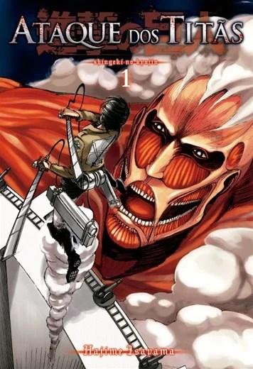 Ataque dos Titãs - capa do 1º volume