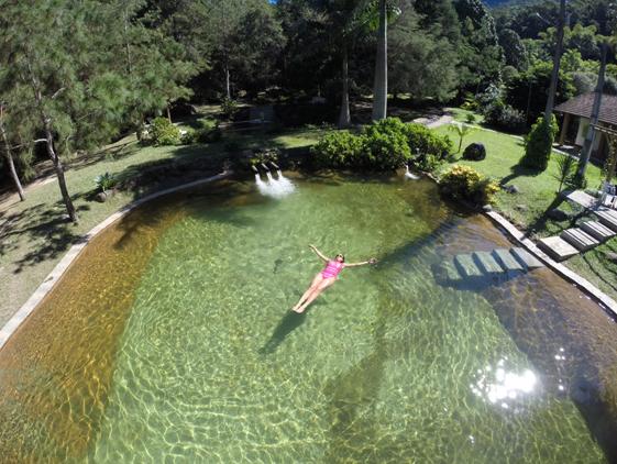 Hotel villa s o rom o lumiar regi o serrana do rio de for Como recuperar agua piscina verde