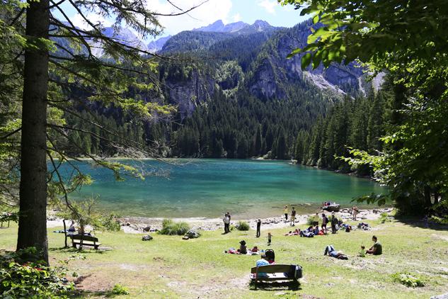 lago di tovel italia