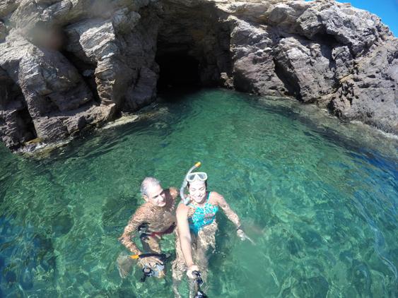 Snorkel em Ios