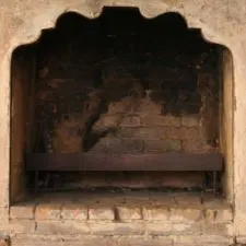 inside of firebox