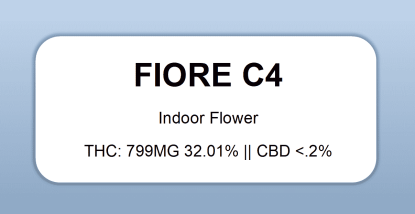 Fiore - Fiore C4 (dateless label)