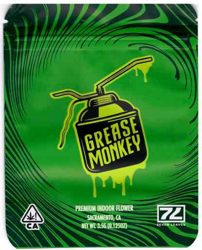 Seven Leaves - Grease Monkey (front)