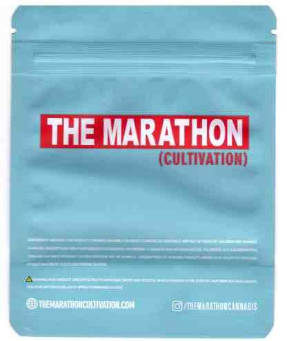The Marathon - Cotton Candy Mylar Bags (back)