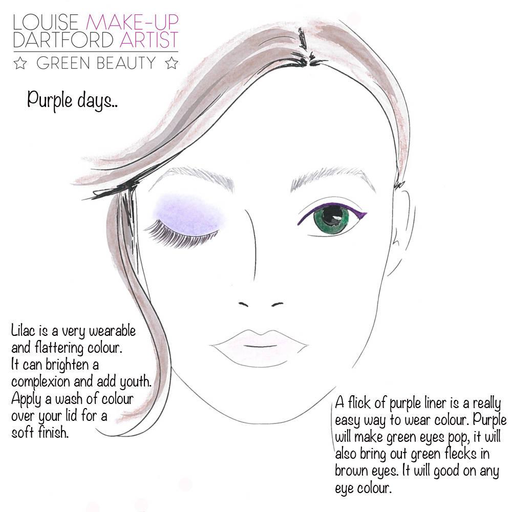 purple eye tip