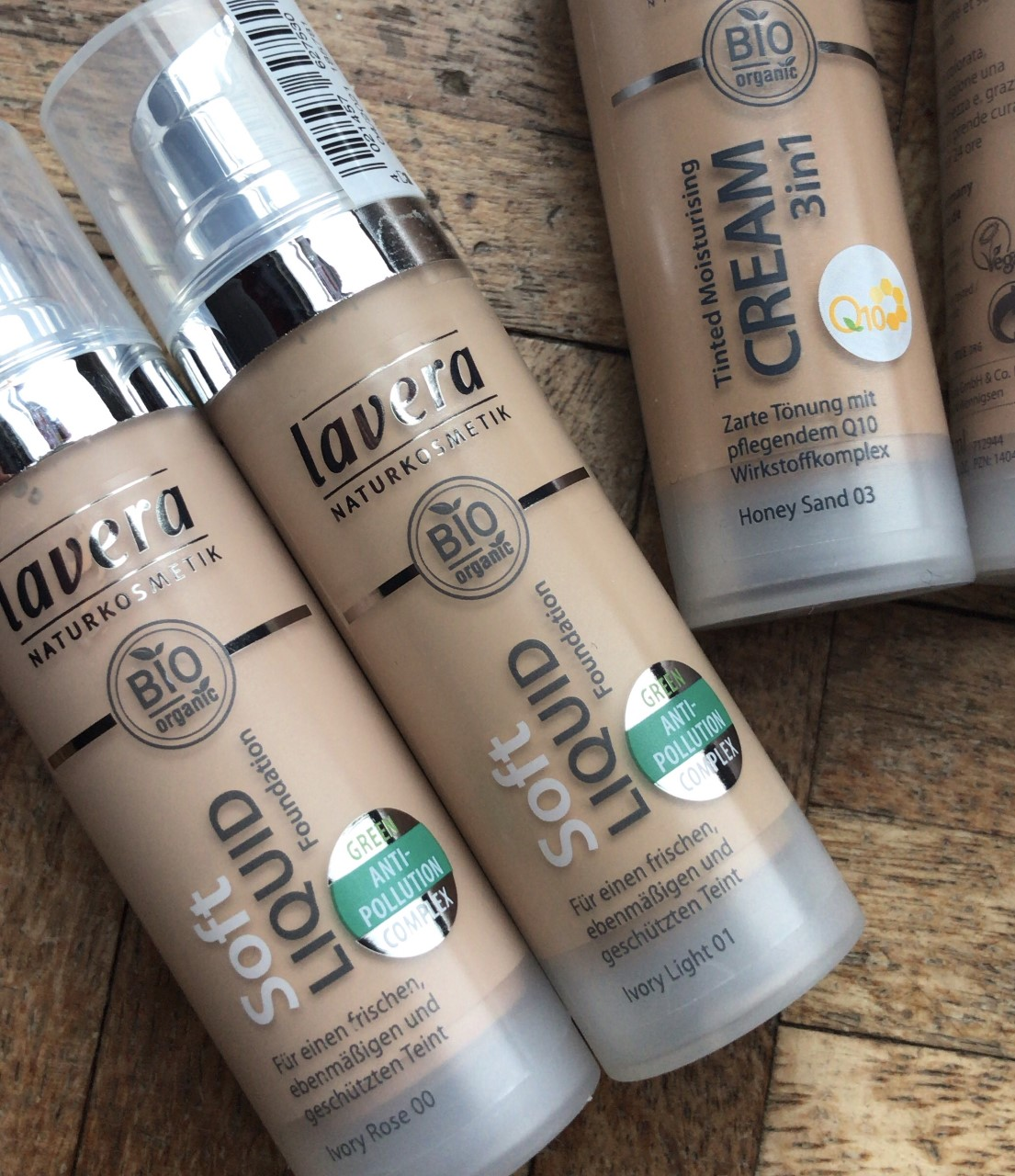 New Lavera Foundations..