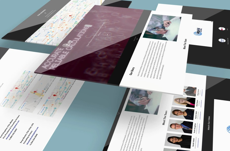 brand identity design website mockup images to showcase the work Loudbyte