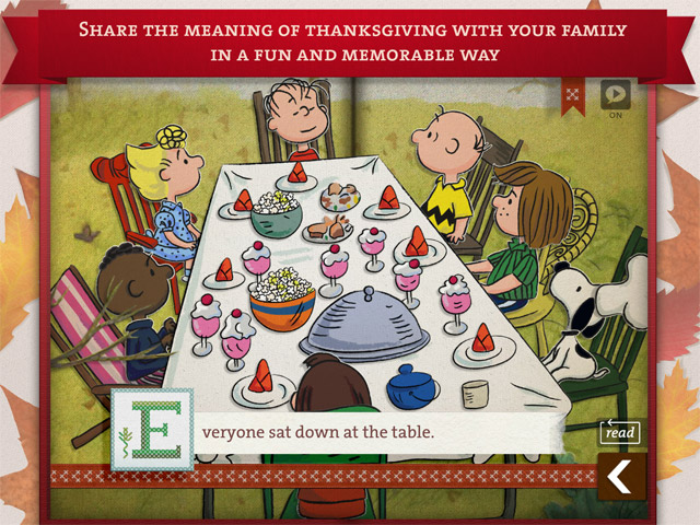 A Charlie Brown Thanksgiving by Loud Crow Interactive -Review and GIveaway