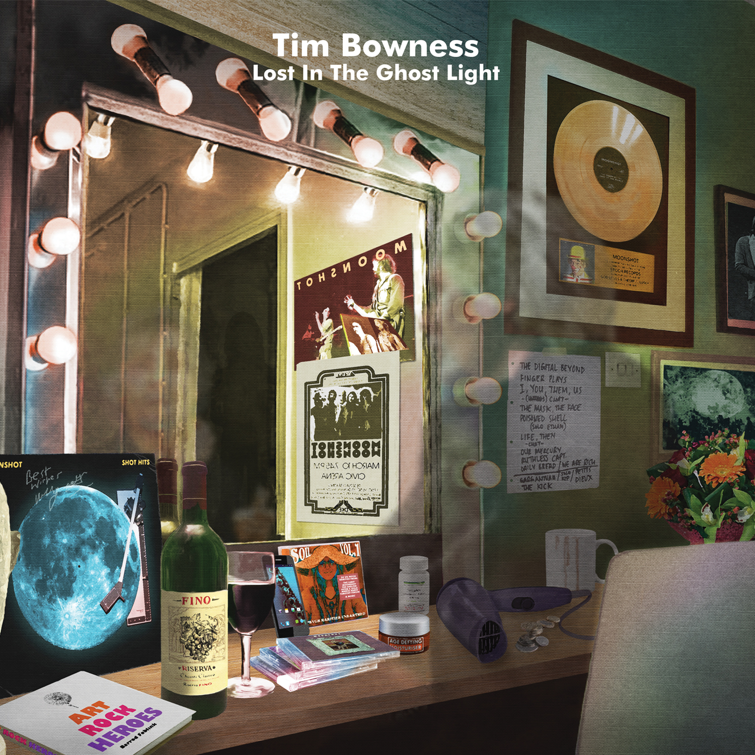 Image result for tim bowness lost in the ghost light