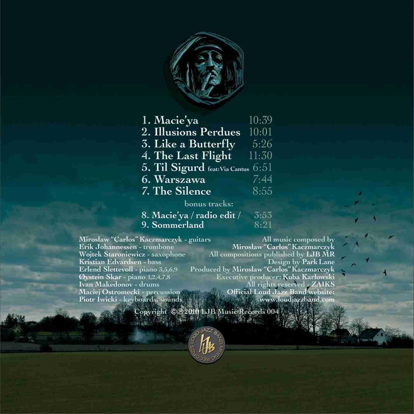 The Silence - back cover