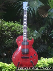 Les paul custom shop