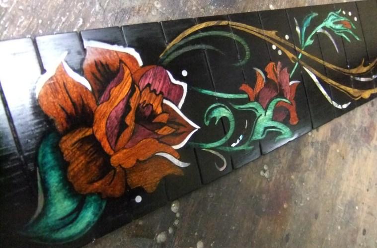 Inlays de rosas